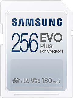 Samsung EVO Plus 256GB SDXC UHS-I U3 130MB/s Full HD & 4K UHD geheugenkaart (MB-SC256K/EU)