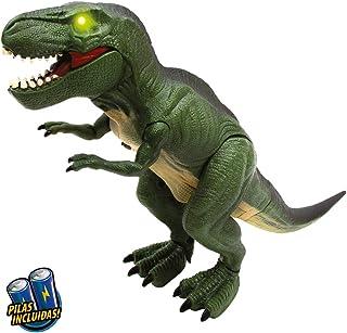 Los dinosaurios robot animal Dinosauria LED niños corre iluminación Elektro
