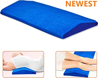 Lemebo Lumbar Pillow Bed Back Support Sleeping Pillow, Soft Memory Foam Sleep Wedges, Multifunctional Lumbar Support Cushion for Hip, Sciatica and Joint Pain Relief, Side Sleep