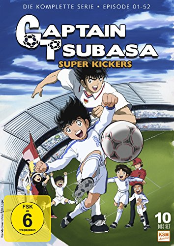 Captain Tsubasa - Super Kickers - Gesamtedition Folgen 1-52 [10 DVDs]
