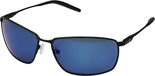Matte Black/Matte Black/Black/Blue Mirror 580P