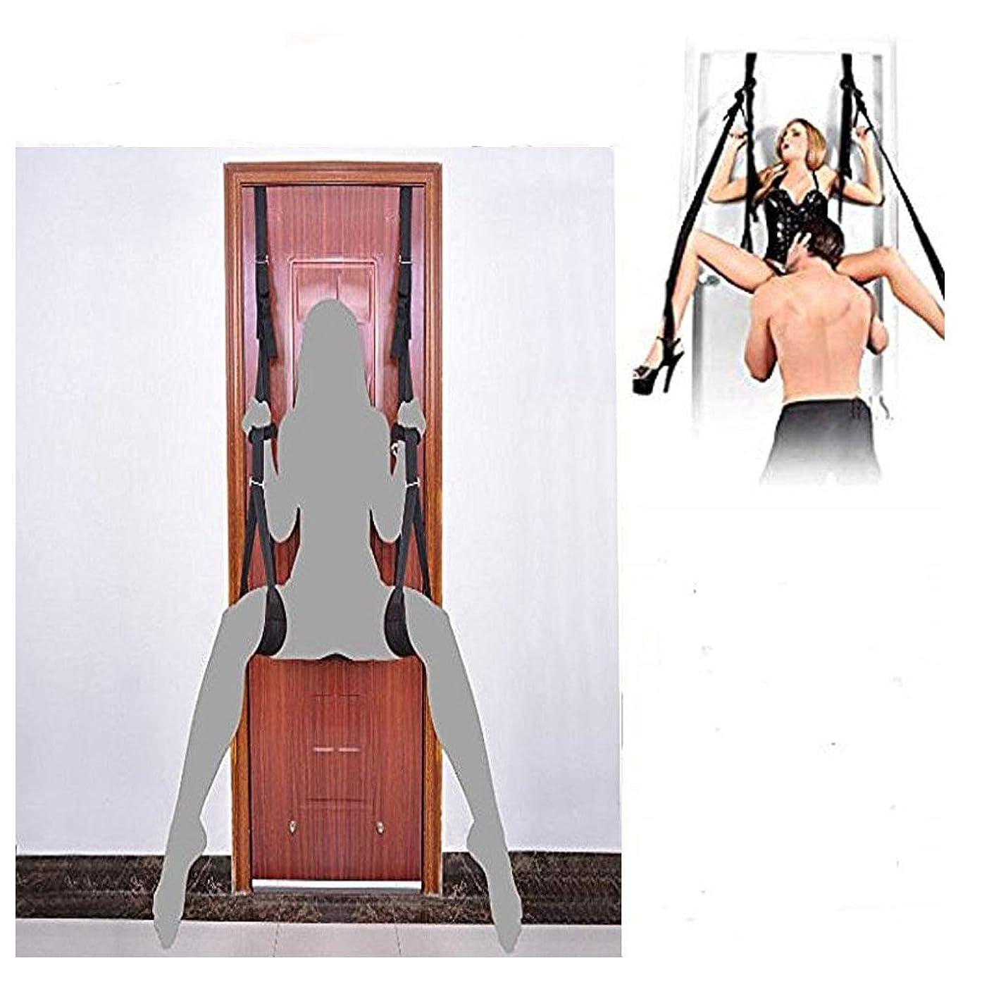 Hanging On Door Bondage Sex Swing Sex Swing Bondage Sexy Love Swing for Couples Adult Fetish Indoor Hang Swing Restraints Kit Door Hanging Sling Women Men Flirt Sex Play