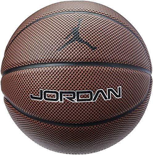 Nike Jordan Legacy 8P Basketball (7, Brown)