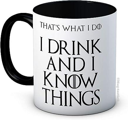 I Drink and I Know Things (That's What I Do) - Tyrion Lannister - Game of Thrones - Hochwertige Kaffeetasse preisvergleich bei geschirr-verleih.eu