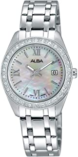 Alba Stainless Steel Casual Watch For WoMen , AH7F89X1