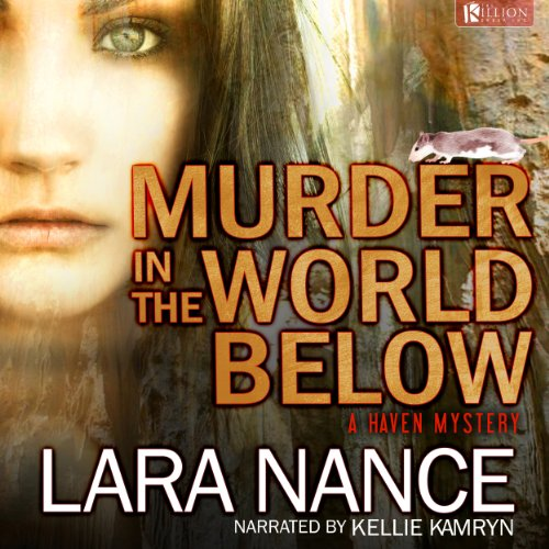 Murder in the World Below audiobook cover art
