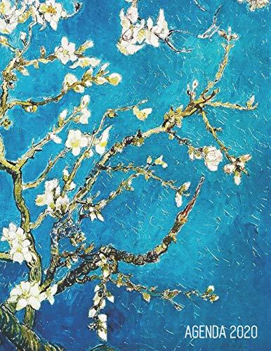 Vincent Van Gogh Planificador Diaria 2020: Almendro en Flor | Art Postimpresionismo | Agenda 2020: Enero a Diciembre | Pintor Neerlandés | Ideal Para ... y la Oficina: 10 (Agenda 2020 Semana Vista)