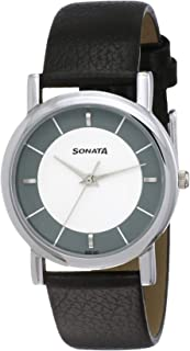 Sonata Analog Multicolor Small Dial Men's Watch -NM7987SL01W / NL7987SL01W