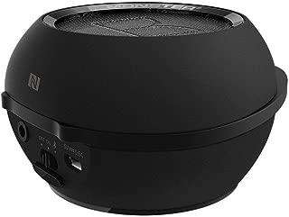 Monster Superstar Hotshot Portable Bluetooth Speaker, Black & Silver