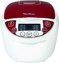 Moulinex Multicuiseur 12 Programmes, Cuiseur Riz, Cuiseur Vapeur, Capacité 5L, Puissance 750W, Cuve Antiadhésive Amovible,...