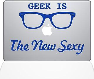"The Decal Guru Geek is the New Sexy MacBook Decal Vinyl Sticker - 15"" Macbook Pro (2016 & newer) - Dark Blue (1066-MAC-15X..."