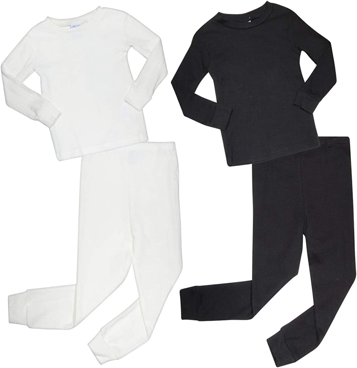 Arctic Hero Infant & Toddler Boys 4-Piece Thermal Long Underwear Set (2 Full Sets)