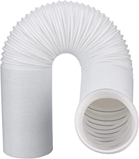Air Conditioner Exhaust Vent Hose For Portable AC Counter Clockwise 5 Inch Diameter Length 59 Inches. Fits Whynter, Honeywell, EdgeStar, LG, Delonghi and More. A/C 5