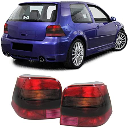 Carparts Online 12987 Klarglas Celis Rückleuchten Rot Schwarz Auto
