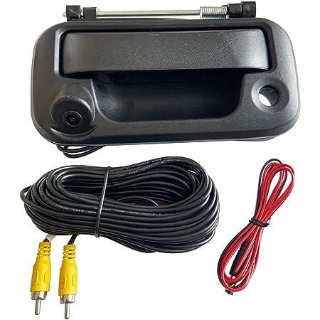 Rear View Camera Backup Camera Tailgate Handle Car Rear View Camera Car Camera Compatible with 2004-2014 Ford F150, 2008-2016 F-250/F-350/F450/F550