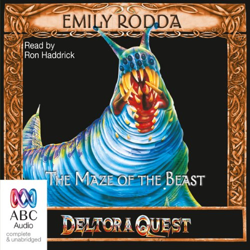 Maze of the Beast audiobook cover art