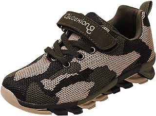 Alwayswin-Schuhe Alwayswin Kinder Jungen Camouflage Turnschuhe Mesh Atmungsaktiv Sneakers Mode Laufschuhe Bequem Lässig Sportschuhe Kinderschuhe Freizeitschuhe Weicher Boden Klettverschluss Sneaker