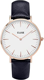Cluse Women's Analogue Quartz Watch with Leather Strap CL18029