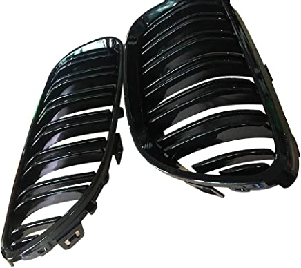 EMSMIL 82MM 74MM Black Carbon Emblem Badge Hood Logo Front Rear Bonnet Boot Replacement For BM W