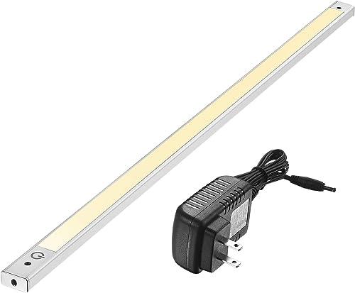 "24"" Under Cabinet Lighting 3000K - Under Counter Lighting and Under Cabinet LED Lighting by Phonar with 12V Adapter a..."