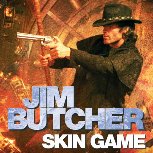 Skin Game audiobook cover art