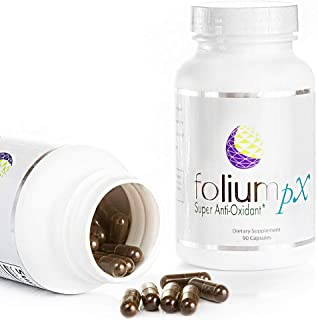 Folium pX Immune System Support, Full Body Cleanse, Heavy Metal Detox, Mercury, Lead, Arsenic, Barradium, Gadolinium, Cadm...