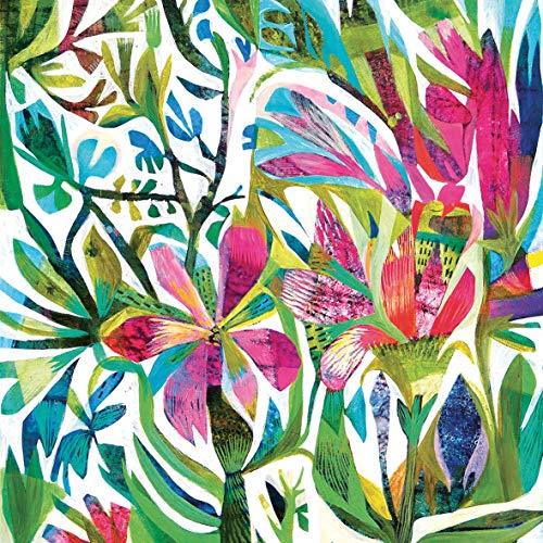 Servilletas de Papel Decoradas Flores Marca Home Collection