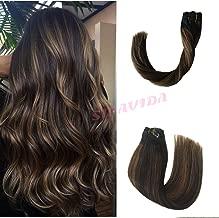 dark chestnut brown hair extensions
