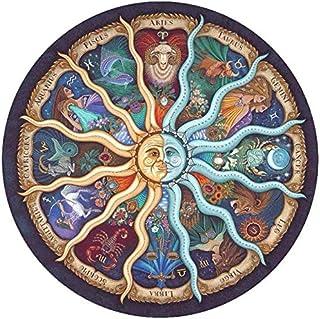 Rompecabezas Circulares,1000 Piezas Redondo Puzzle,Educativo El Alivio del Estrés Juguete Relajante Juego Divertido,Juego ...