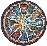 Tonifa Rompecabezas Circulares,1000 Piezas Redondo Puzzle,Educativo El Alivio del Estrés Juguete Relajante Juego Divertido,Juego de Rompecabezas Circular Desafío Intelectual Juegos Niños Adultos