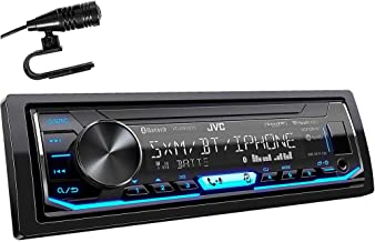 JVC KD-X360BTS 1-DIN Bluetooth In-Dash Mechless AM/FM/Digital Media Car Stereo Receiver..