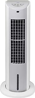 山善 冷風扇 扇風機 押しボタンスイッチ 風量3段階調節 水タンク着脱式 キャスター付 ホワイトグレー FCT-G402(WH)