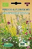 Germisem Orgánica Perennial Semillas de Mezcla de Flores 1 g