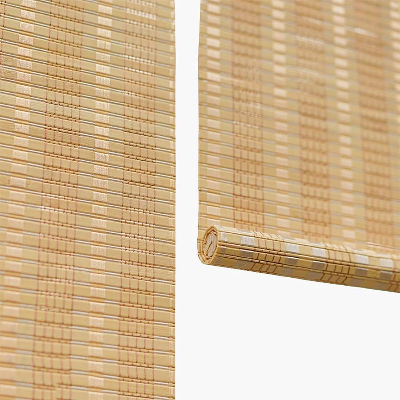 encuentra tu favorito aquí Persiana Persiana Persiana enrollable Cortina de Bambu- Tipo De Gancho Material De Fijación, Persiana De Bambú para Ventanas Interiores Salones De Té Cortados, 90% De Apagón (Tamao   80x180cm)  Nuevos productos de artículos novedosos.