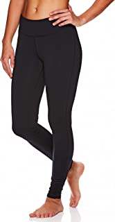 Gaiam Women's Om Yoga Pants - Performance Compression Full Length Spandex Leggings