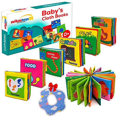 SVIKASTOYS51 Infant Toy, Baby Toys 3 to 6 Months, My First Baby Book...