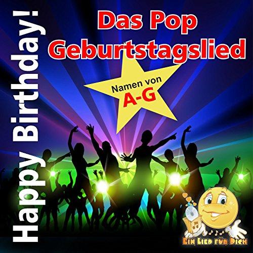 Happy Birthday ! Das Pop Geburtstagslied für Anja