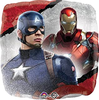 LuftBalloons Std Captain America Civil War Balloon