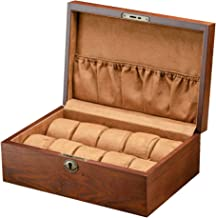 Hemobllo Wooden Watch Gift Boxes Jewelry Display Drawer Case Wristwatch Display Storage Case for Home and Shop