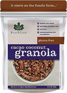 brookfarm Gluten Free Cacao Coconut Granola, 350 g