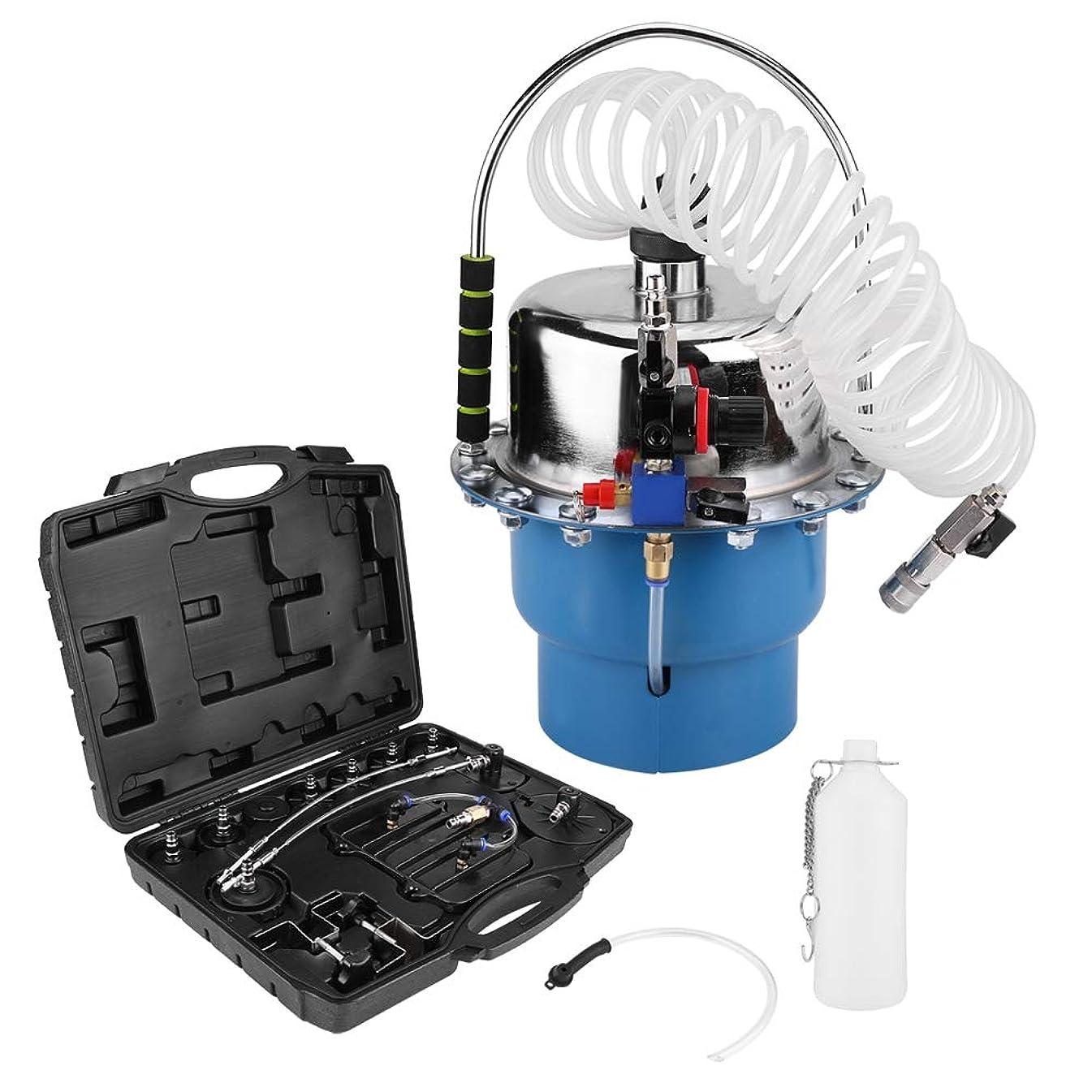 Professional Power Brake Bleeder Kit, Air Pressure Pneumatic Brake Bleeding Tool and Clutch Bleeder Valve System Set
