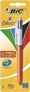 Bic 4 Color Fine Ballpoint Pen in Blister Pack