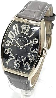 (フランクミュラー)FRANCK MULLER 5850SC トノーカーベックス サンセット 無垢 自動巻 腕時計 K18WG / クロコ革ベルト メンズ 中古