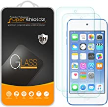 (2 Pack) Supershieldz for Apple New iPod Touch (7th Gen 2019 Released, 6th and 5th Generation) Tempered Glass Screen Prote...