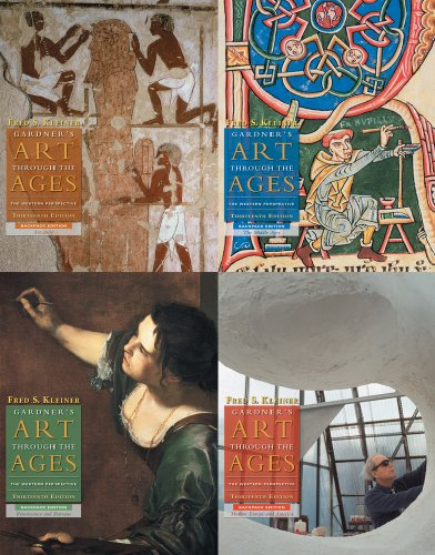 Gardner's Art through the Ages: 4 Volume Backpack Edition (with Art Study & Timeline Printed Access Card)