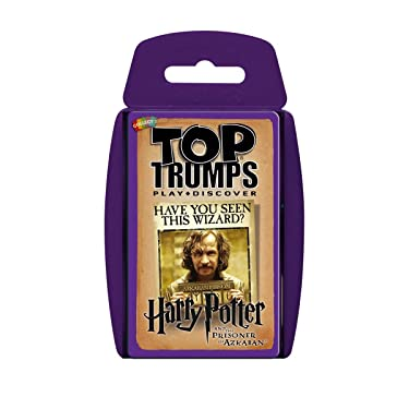 Harry Potter & the Prisoner of Azkaban Top Trumps Card Game