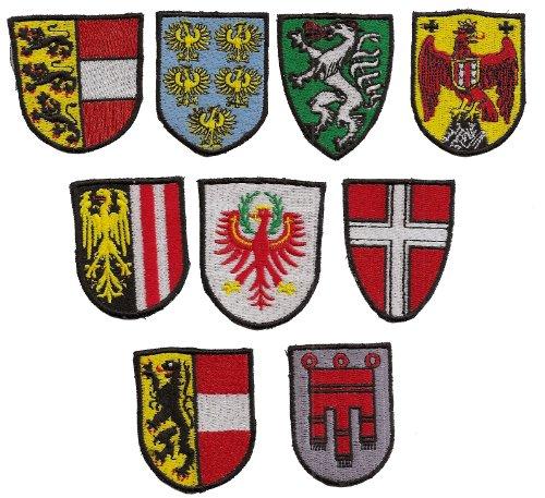 Sammler - österr. Landeswappen Steiermark - Aufnäher - Patch -Bundesland