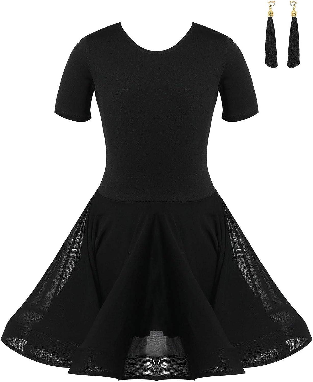LiiYii Kids Financial sales sale Girls Stage Show with Tassel Dancewear Shorts Access favorite