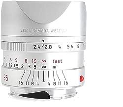 Leica 35mm F/2.4 Summarit-M Silver ASPH. 11679