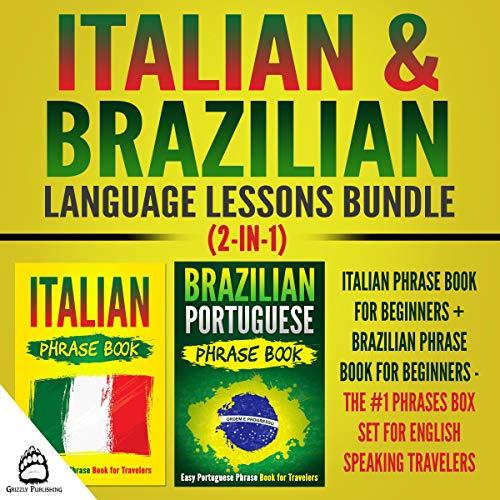 Italian & Brazilian Language Lessons Bundle (2-In-1) cover art